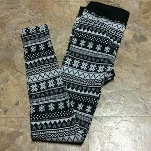 🔥 Fleece lined girls winter leggings